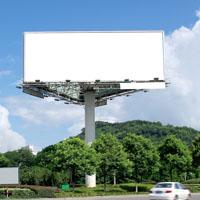 Billboard pole